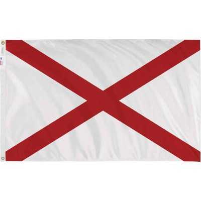 Valley Forge 3 Ft. x 5 Ft. Nylon Alabama State Flag