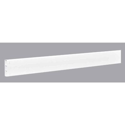 Outdoor Essentials 2 In. x 6 In. x 192 In. White Vinyl Fence Rail