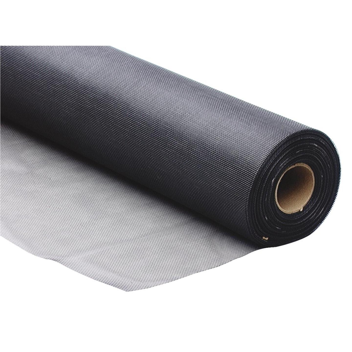 Phifer 48 In. x 100 Ft. Charcoal Fiberglass Mesh Screen Cloth Image 3