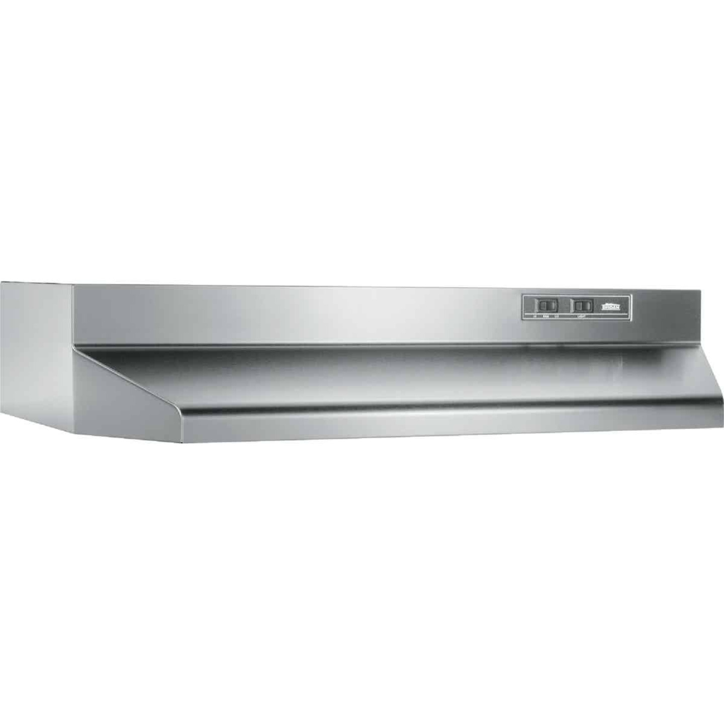 Broan-Nutone 40000 Series 30 In. Ducted Stainless Steel Range Hood Image 1