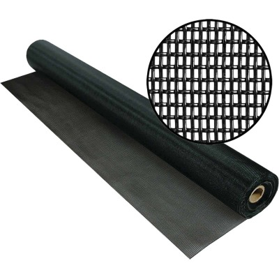 Phifer PetScreen 36 In. x 100 Ft. Black Pet-Resistant Screening