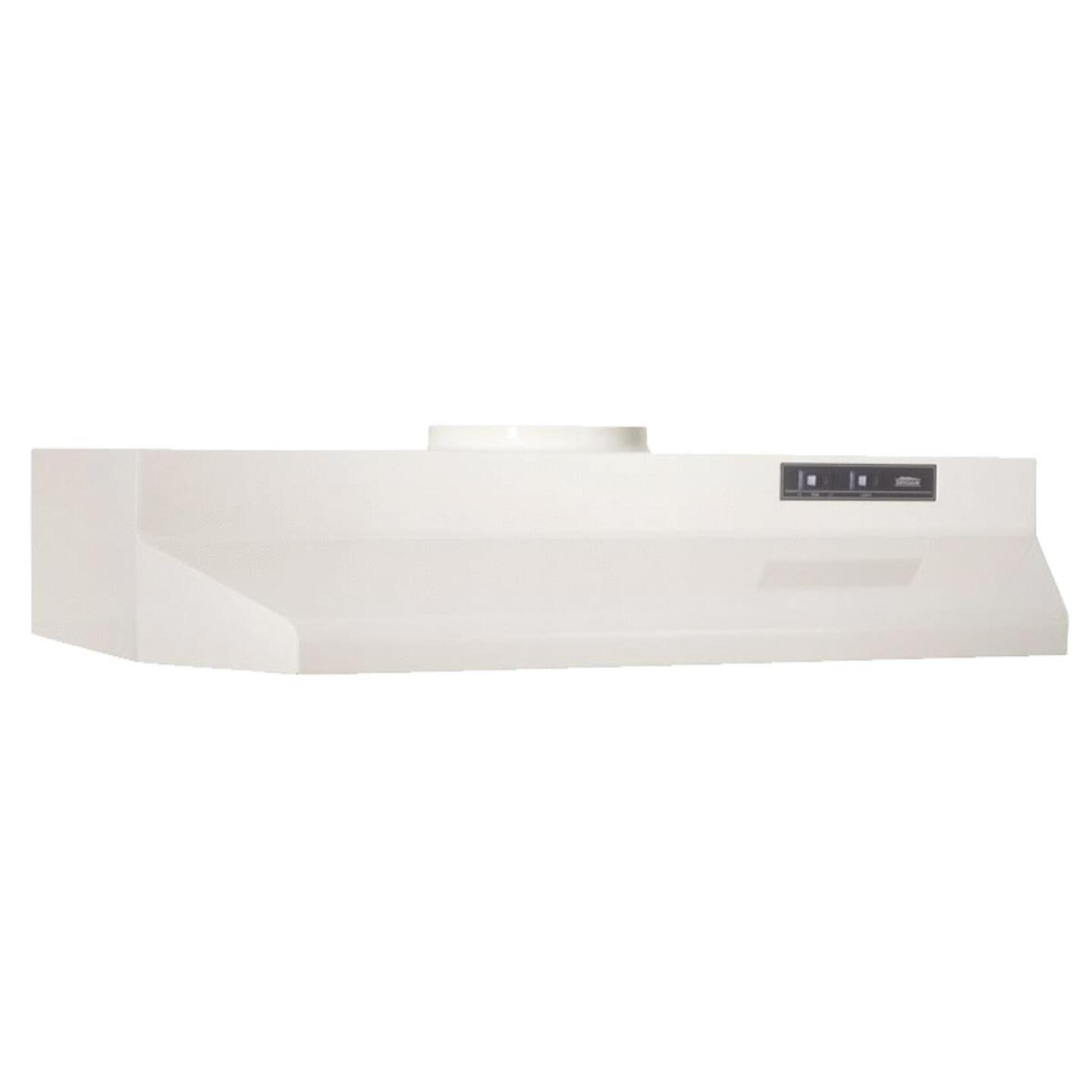Broan-Nutone F Series 30 In. Convertible Almond Range Hood Image 1
