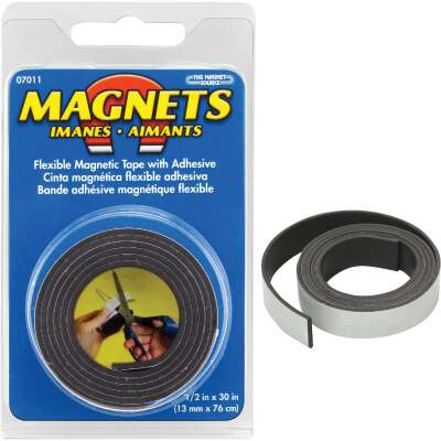 Master Magnetics 30 in. x 1/2 in. Magnetic Tape