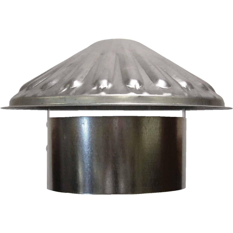 S & K Galvanized Steel 6 In. x 9-1/2 In. Vent Pipe Cap Image 1