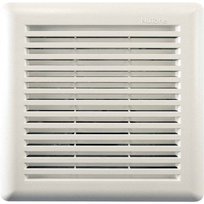 Broan Roomside 11-1/2 In. W. x 12 In. L. White Exhaust Fan Replacement Grille