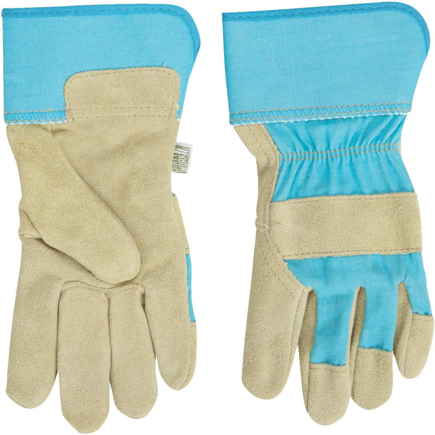West Chester Protective Gear Dirty Work Women's Small Leather Work Glove Image 3