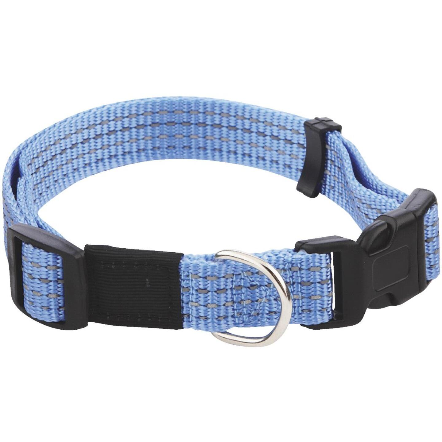 Westminster Pet Ruffin' it Reflective 14 In. to 20 In. Nylon Dog Collar Image 1